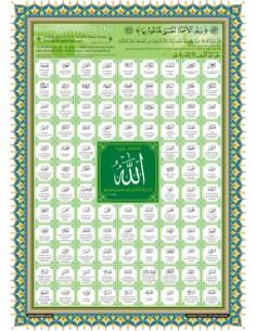 Poster : Les 99 Beaux Noms...
