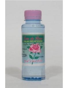 Bouteille d'eau de rose