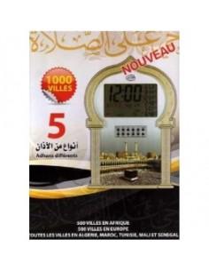 Horloge Adhan avec option...