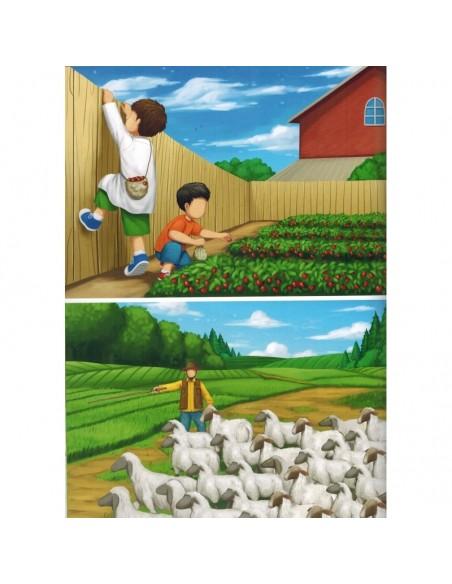 Les 40 Hadiths An-Nawawi - Illustré et commenté pour les Enfants (Arabe/Français) - MUSLIMKID
