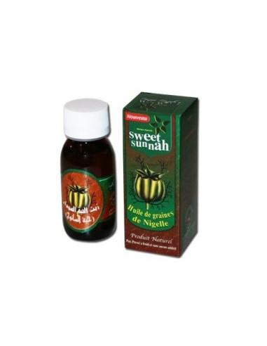 Sweet Sunna huile de nigelle (60ml)