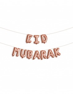 FOLIE BALLON Eid mubarak ROSE
