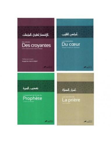 Pack 4 livres Éditions Tawbah