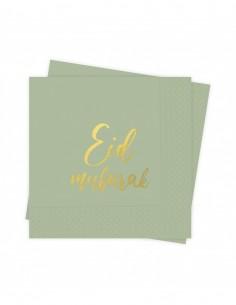 Serviettes Eid Mubarak...