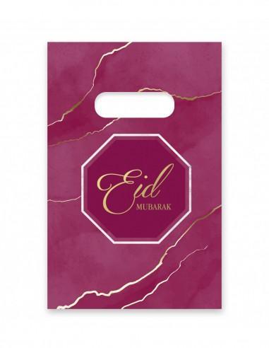 Sachets de bonbons Eid Mubarak Violet...