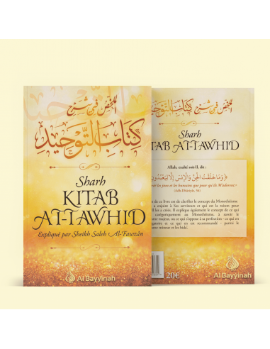 Sharh Kitâb At-Tawhîd - Résumé de...