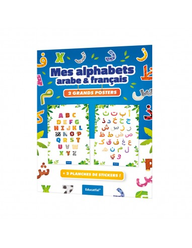 Mes alphabets arabe & français - 2...